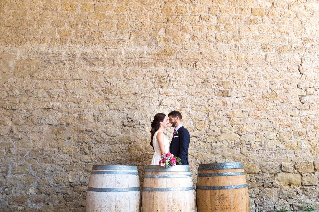 boda en bodegas marques de riscal