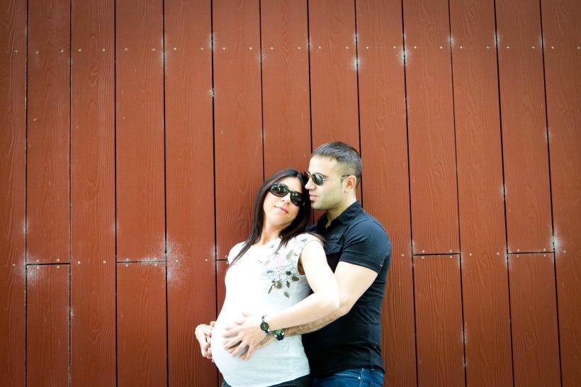 Reportaje de embarazo en Vitoria